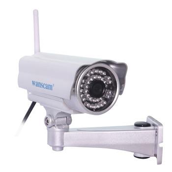 Wireless WiFi ONVIF HD Megapixel 720P Manual Pan/Tilt IR Cut Outdoor Waterproof Night Vision Security Network IP Internet Camera