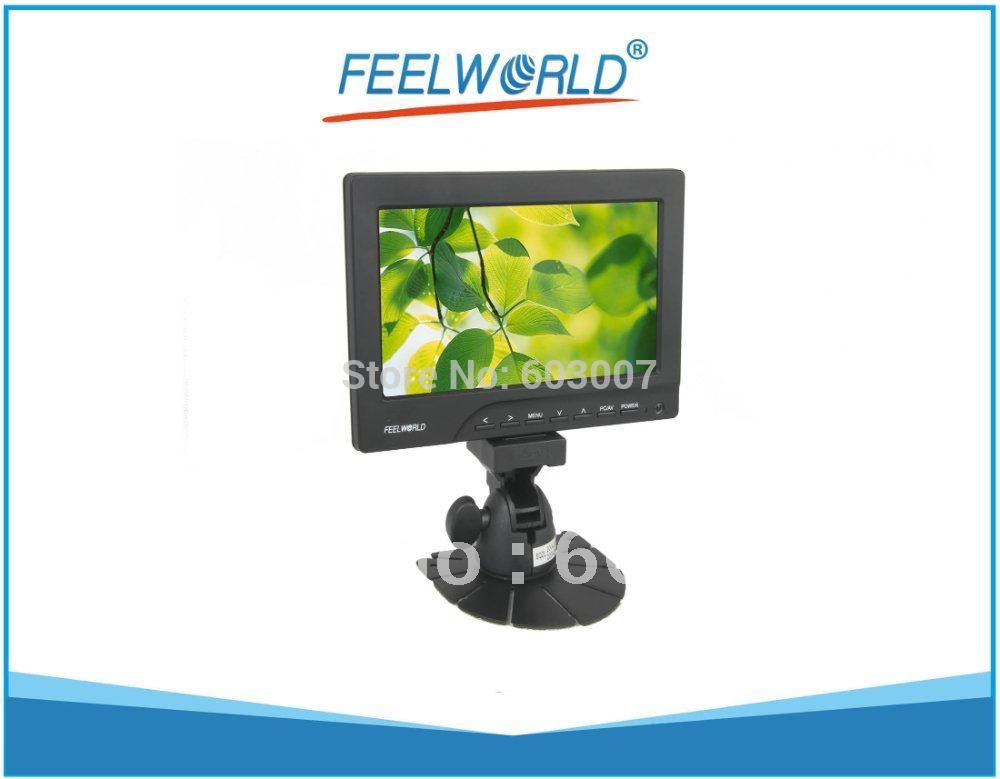 ЖК-монитор FEELWORLD TFT VGA 7/hdmi, VGA, AV , fw669aht/400 FW669AHT-400 монитор 7 дюймов с hdmi