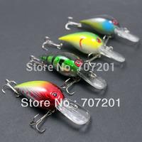 8pcs 7.5cm 3in 10g 0.4oz Crank Fishing Lures Baits Mix  Colores