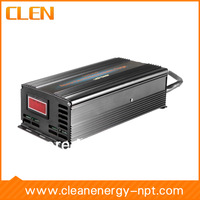 24V 15A High frequency lead acid battery charger, Reverse Pulse Desulfation battery charger for battery maintenance