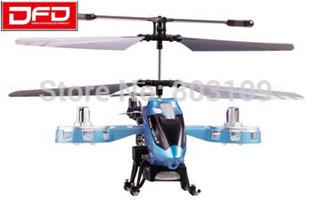 Free Shipping Avatar DFD F103B 4CH metal rc helicopter GYRO 23cm side fly F103 upgraded