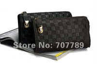 Men's real leatch clutch bag handbag free shipping Wholesale / Retail