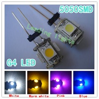 10 x G4 5SMD led bulb, Car white and warm white instrument lights , reading light, boat lights, free shipping