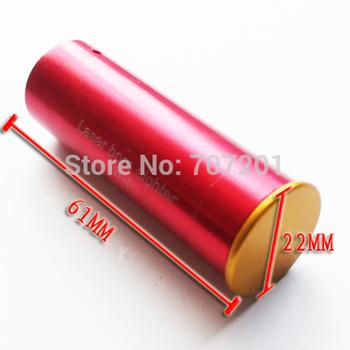 CAL: .12 GAUGE 12GA Cartridge Laser Bore Sighter Boresighter Red 20mm Dia
