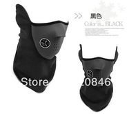 Free shipping 5pcs/lot  Practice Winter Outdoor Sports black color face warm mask Neoprene mask