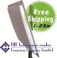 UHF RFID integrated long range reader 25M +supply Free SDK software Developer