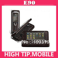 E90 original new unlocked GSM PDA cell phone 3G WIFI GPS 3.2MP 4.0 inches touch screen Free 2GB microSD card 1 year warranty