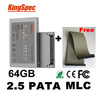 "2.5""  44PIN PATA IDE SSD 64GB 64G Solid State Disk Flash Drive MLC 4-Channel  For computer hard drive Free Shipping  china post"