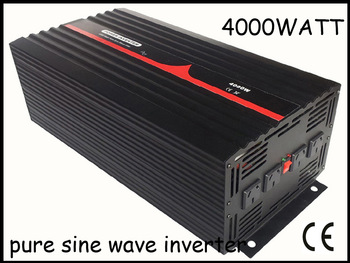 4000w/4kw DC12V/AC230V,high frequency,single phase,off-grid, pure sine wave solar power inverter,home inverter,1 year warranty.