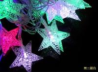 Wholesale 30pcs 5M Long 20 LED RGB Light , Ball Snowflake Icicle...12 types Pendant String lights , Xmas Decoration ,Mixed-lot