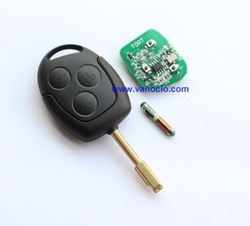 Ford Mondeo 3 Button Remote key with 4D60 chip 434mhz(China (Mainland))