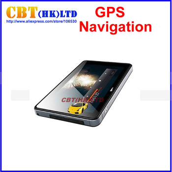 "7""  Car GPS Navigation + Bluetooth + AV-IN +FM +MP3 MP4 + 4GB memory + free Map"