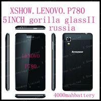 Lenovo P780 gorilla glass  phone MTK6589 quad core 1.2G 4000mAh 1G/4G 1280X720 Camera 8.0M Smart phone Android4.2  58 language