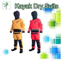 New Shakoo SKAW-KT Dry suit kayak wetsuit paddling drysuit sailing dry suit kayaking hat zip front