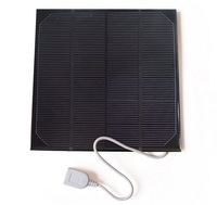 High Quality!4.5W Solar Charger For Power Bank Solar Cell Monocrystalline Solar Panel Charger Solar Mobile Charger Free Shipping