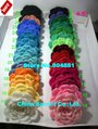 sarmit- 100/lot 4.5&quot;-5.5&#39;&#39; handmade crochet flowers cap hair headband flowers sewing accessory free shipping