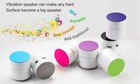 Freeshipping DHL 10 pieces  Vibration Speaker momo, MP3 speaker ,3-5work days