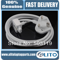 100% Original&Genuine White 1.8M New UK Extension Power Cord  For Apple  A1184 A1172 A1222 A1290 A1330 A1343 A1344 A1244