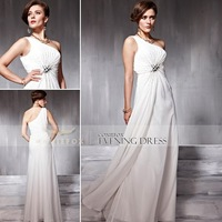 Promotion! 77% Off Coniefox One-Shoulder Elegant Bridesmaid Dress 56689