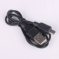 USB Cable 5PIN MINI B TO A USB 2.0 Cable for Camera PSP MP3 Free Shipping