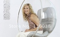 FREE SHIPPING+Hanging Bubble Chair+Acrylic Material+Transparent Color