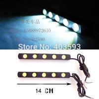 FREESHIPPING  Daytime running light DRL Car Accessories LED daytime 5LED*2