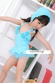 DHL+bathing suits +blue toddler swimsuit+ baby swim+Ballet dress swimsuit +baby girl swimsuits with Cap  for:1T-7T