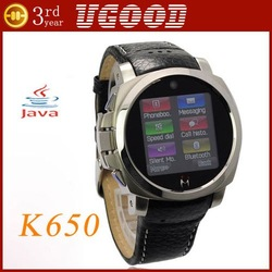 freeshipping K650 water proof watch phones camera real watchproof quad band unlocked bluetooth FM MP3/4 #2(China (Mainland))