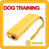 fast shipping wholesale 10pcs/lot  Ultrasonic Pet Dog Repeller Training Device Trainer  REPELLER  LED light ANTI BARK
