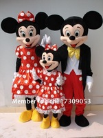 Mickey Mouse & Minnie Mascot Costume character mascot
