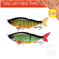 Free Shipping Obere Joint Hunter(140mm 55g) VMC Hooks Fishing lure Jerk Baits-14pcs