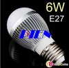 2012 New Globe LED Bulb 6W E27 | GU10 SMD 5630 15 LED Light LED lamp 85V-265V Free shipping 5pcs/lot