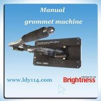 manual single eyelet machine/gromemt punching machine