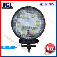 "4"" 18w led work light,Wholesale or retail~18W 10-30V DC led work lamp for ATV Truck lamp 1500Lm led working light Free Shipping"