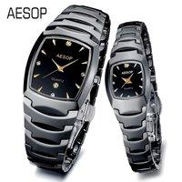AESOP Luxury Watch Ceramic wrist quartz Watches for lover 2013 Design sapphire scratchproof  3 ATM Water Resistant 9916