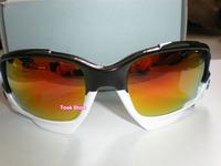 High quality men sun glasses Black White sport sunglasses Jawbone eyewear cycling eyeglasses 3 lens oculos anteojos de sol gafas