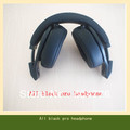 free shipping 1pc/lot all black pro headphone studio with retail packaing high quality good sound factory sealed