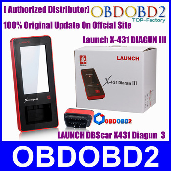 Launch X431 Diagun III 100% Original Supports Universal Multi-Vehicle Multi-Language Diagun iii X-431 Launch Diagun 3 DHL Free