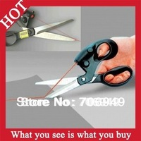 1pc New 2014 Sewing Laser Scissors Cuts Straight Fast Laser Guided Scissors As Seen On TV Products - MTV34