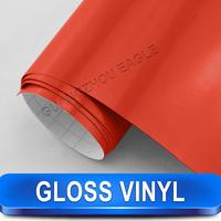 Car Beauty Film Glossy Red Vinyl Wrap 1.52