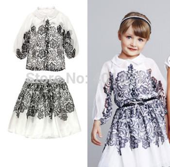 Girl Satin Girls Skirt 2015 New Design Best Quality Children Skirt Silk Chiffon Europen Brand Skirt