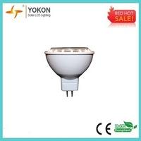 Free shipping 10pcs/lot 5W 300LM MR16 LED Power spotlight bulb