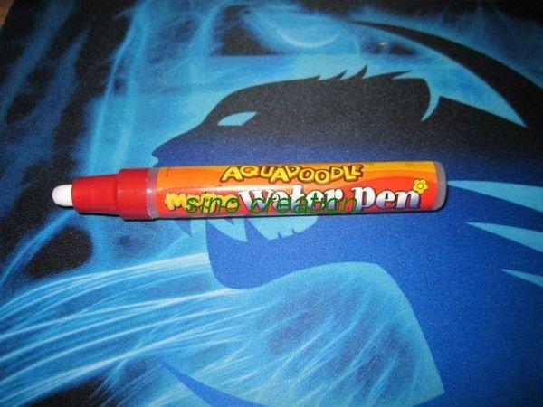 Free Shipping Wholesale 100pcs/lot Mess Free Aquadoodle Drawing Pen/Magic Water Drawing Pen For Aqua Doodle Drawing Mat Toy(China (Mainland))