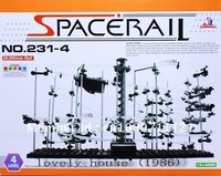 Educational Space Rail Level 4 DIY Physics Space Ball Rollercoaster toy