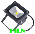 Black LED Floodlight 10W outdoor landscape Lighting factory wall Garden lamp Cold|Warm White 85-265V 900LM by Express 6pcs/lot
