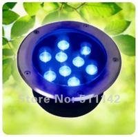 Free shipping led underground light 9W, Bridgelux chip,ground lamp, outdoor lighting, led buried light