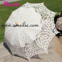 Beige Ecru vintage Stock lace parasols