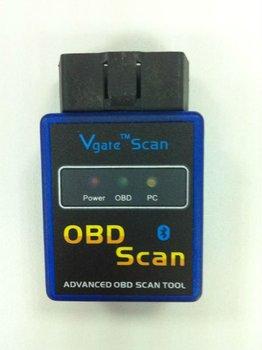 super lowest price  MINI ELM 327 bluetooth wireless VGATE elm327, ELM processor, OBD II scanner interface freeshipping