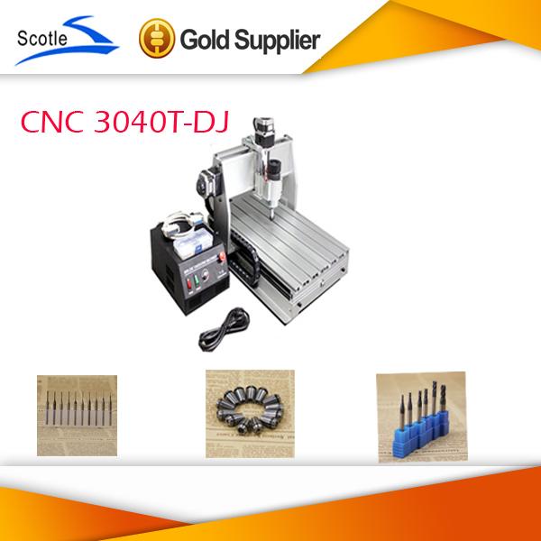 Cnc graveur 3040t-dj fräsen Bohr-und fräsmaschine Upgrade von cnc3040 mit endschalter mit kostenlosem 3,175 mm tranchiermesser