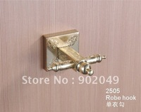 New eco-friendly Color Brass Bathroom Accessories Robe Hook KG-2505 Roll Holder KG-2505